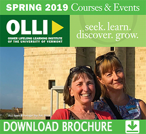 Osher Lifelong Learning Institute Spring 2019 Brochure