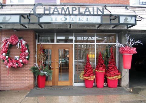 Champlain Hotel in Quebec City